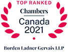 2021 Top Ranked Chambers Canada
