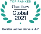 2021 Top Ranked Chambers Global