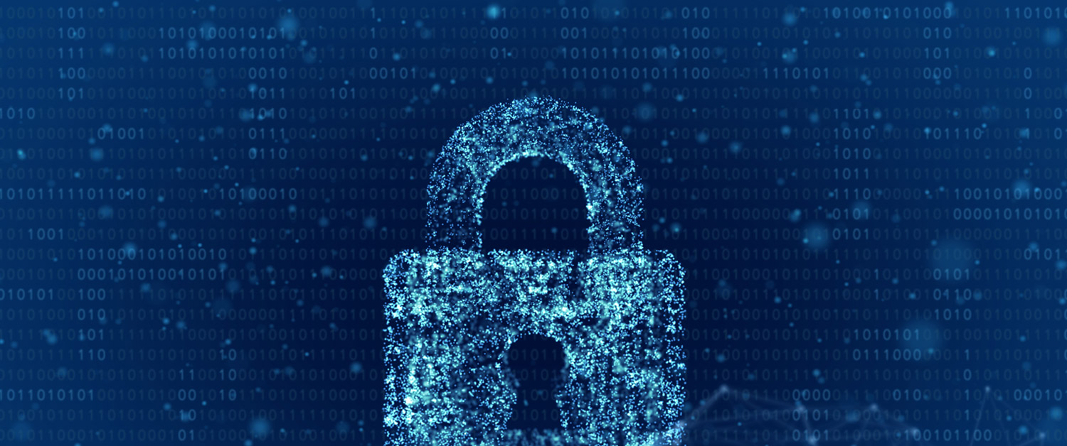Digital pixel image of padlock
